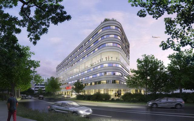 Projekt Hotel in Hamburg Othmarschen -