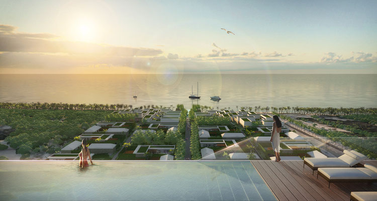Projekt Resort Vietnam - gmp architekten