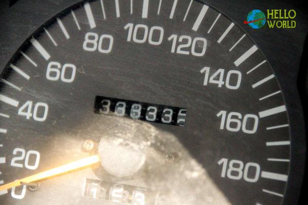 333.333 km!!!