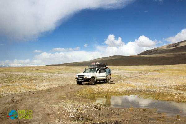 Offroad durch's Bartang Valley in Tadschikistan, Pamir Gebirge