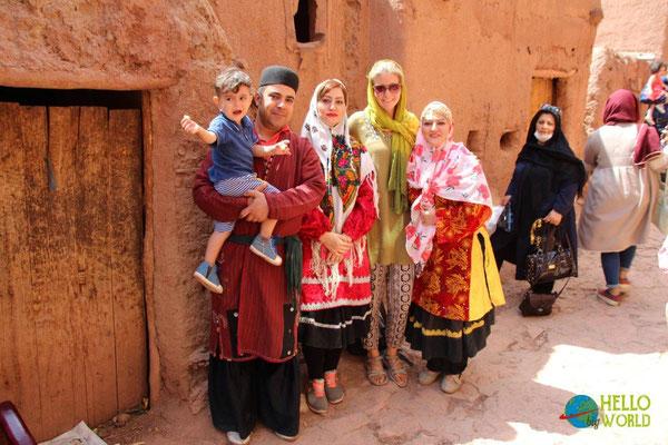Selfie mit Irannern