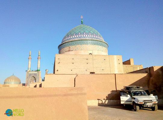 Wüstenstadt Yazd im Iran