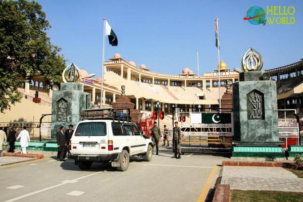 Grenzübergang von Pakistan nach Indien, Wagha Border