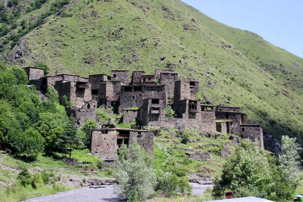 Shatili, Festungsanlage mit 60 Türmen