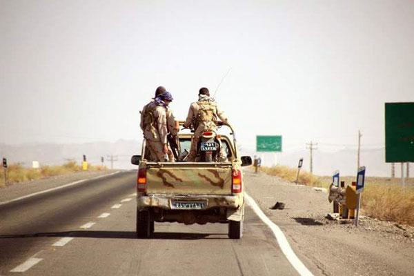 Erste Eskorte für die letzten zehn Kilometer im Iran