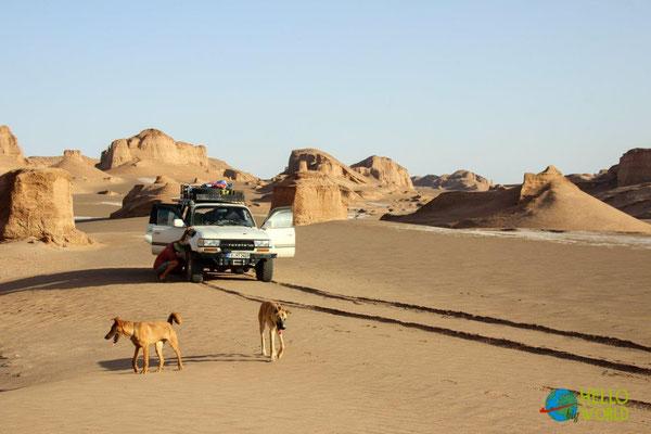 Wüste Lut im Iran
