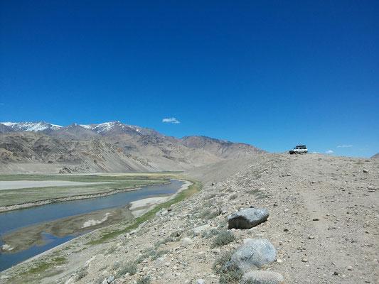 eine Offroad Runde vorbei an zwei wunderschönen Seen