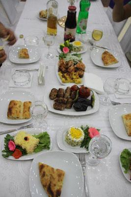 Abenessen Menü