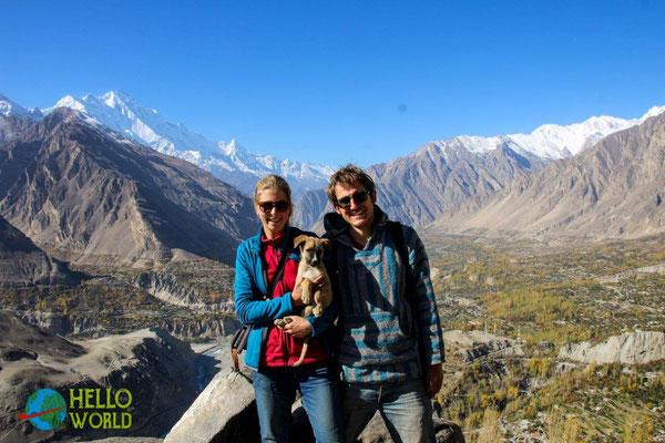 """Familien""--Foto im Hunza Valley"