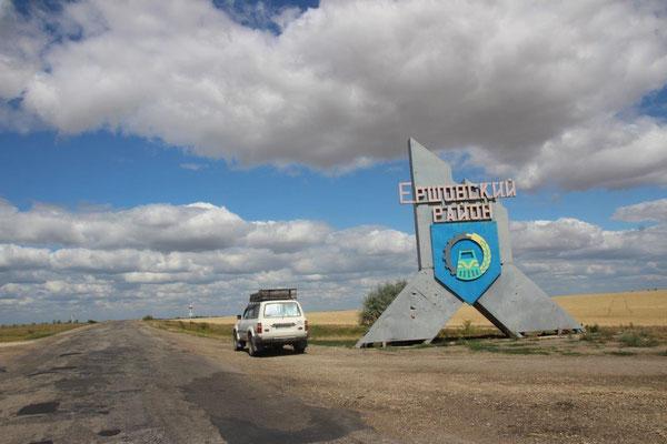 In zwei Tagen durch Russland
