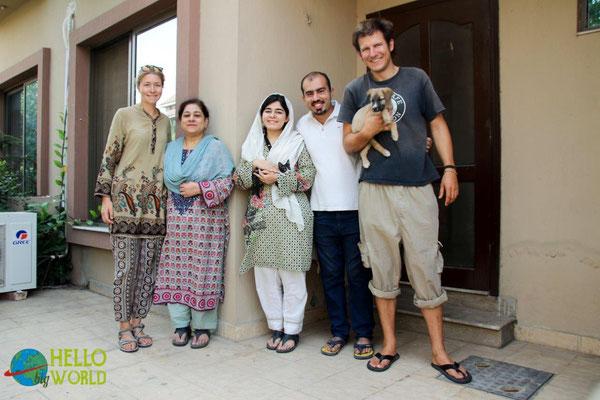 In Lahore, der Grenzstadt zu Indien waren wir zweimal zu Gast bei Talha und seiner Familie. Wir wurden aufgenommen wie gute Freunde und haben unsere Zeit dort sehr genoßen!