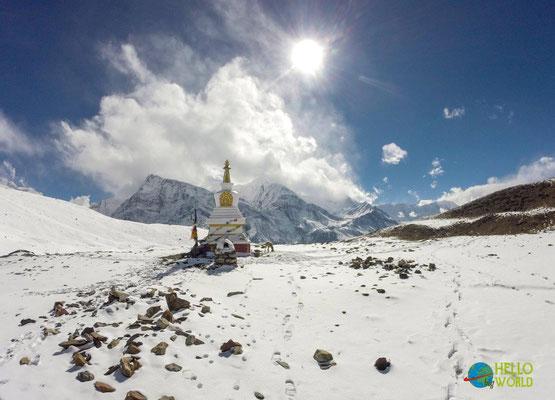 Wanderung zum Icelake in Nepal