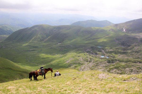 Wanderung zum Chakhi Pass - 1.400 Höhenmeter