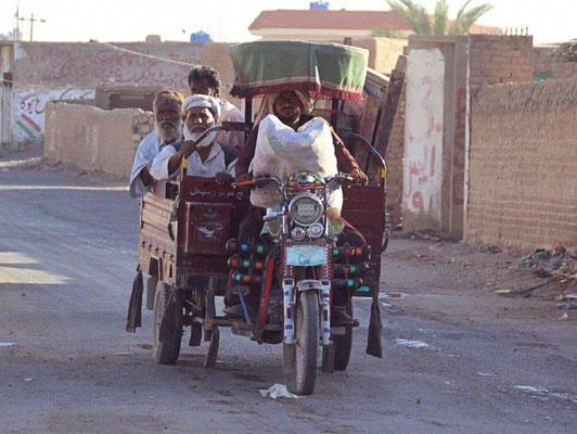 """Die örtlichen """"Taxis"""""""