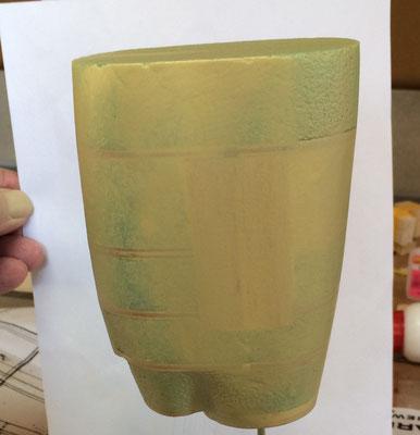 """3laagjes epoxy aanbrengen en """"strak"""" maken"""