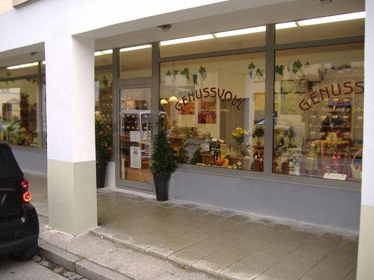 Fensterelement mit Eingangstüre