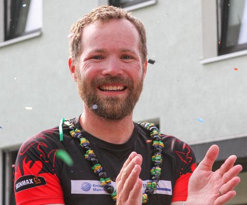 Triathlon-Weltrekord: Ziel / Foto Oliver Kraus