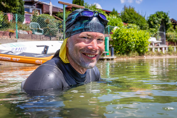 Triathlon-Weltrekord: Gutes Wetter und gute Laune / Foto Nils Thies