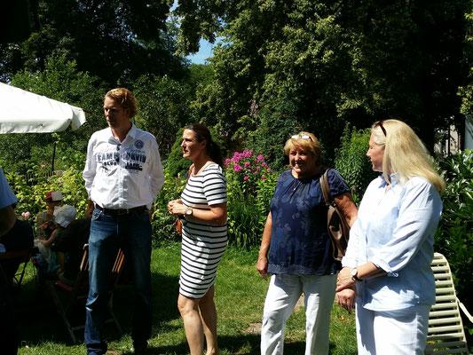 Geschäftsführer Dipl.-BW (FH), financial planner (ebs) Ingo H. Schaub begrüßt die Gäste zum kostenlosen Fachvortrag in der Eselsmühle