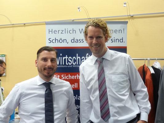 Mike Michal, Senior Sales Institutional Clients der Börse Stuttgart und Geschäftsführer der Wirtschaftsimpuls GmbH, Dipl.-BW (FH), financial planner (ebs) Ingo H. Schaub