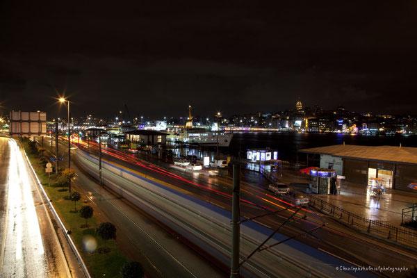 Vue de nuit - rive Europe 2