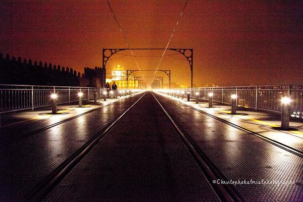 Au dessus du Ponte Dom Luiz