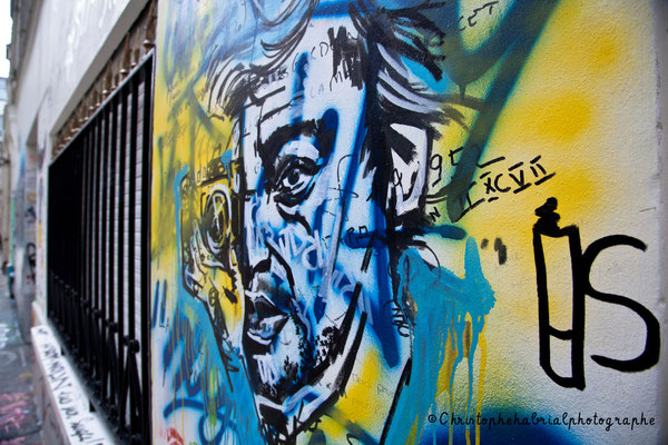 Graff maison de Serge Gainsbourg - Paris VII