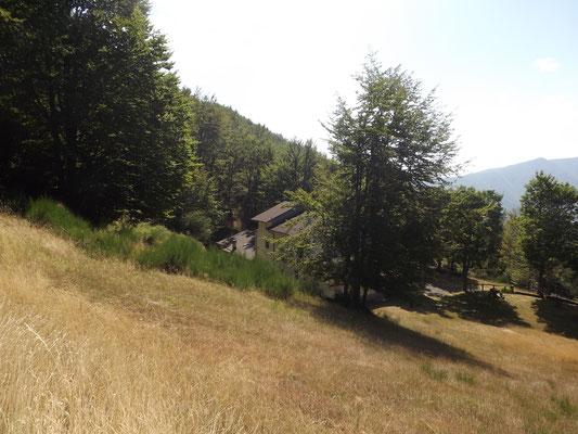 Sulle falde del Monte Pidocchina