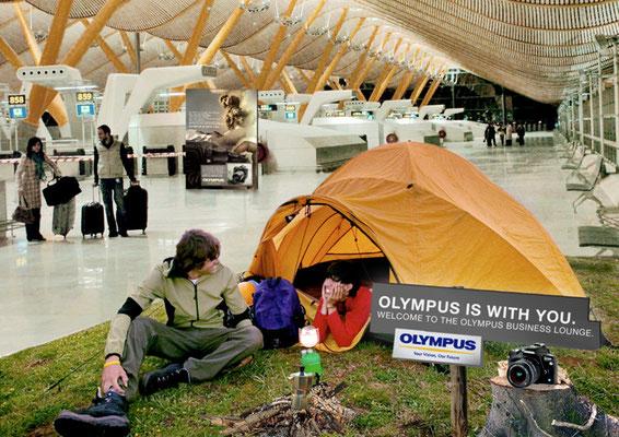 Campingplätze auf Flughäfen