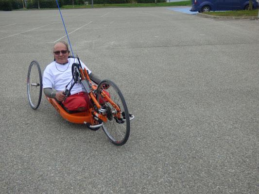 Handbike sans prothèse
