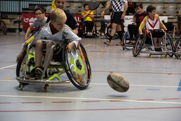initiation rugby fauteuil