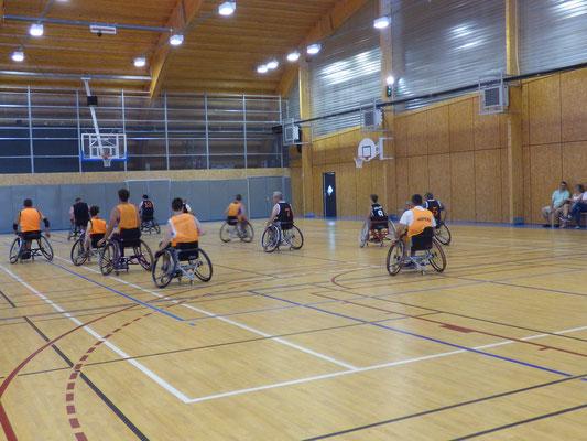 basket-fauteuil - attaque