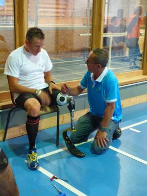 Réglage des prothèses