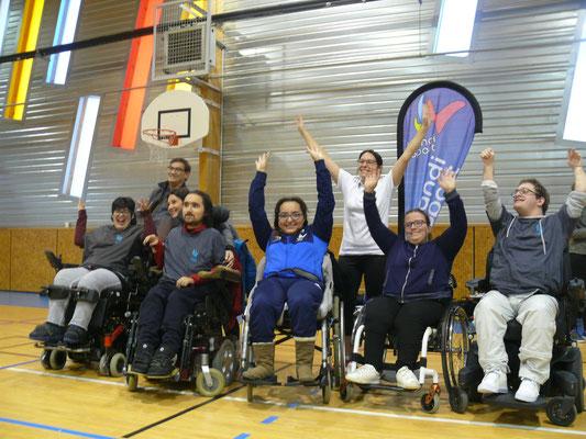 équipe Valence Handisport
