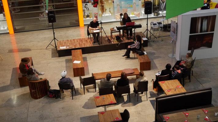Veranstaltung John Cage Lesung mit Jens Zimmer und Alexandra Felder