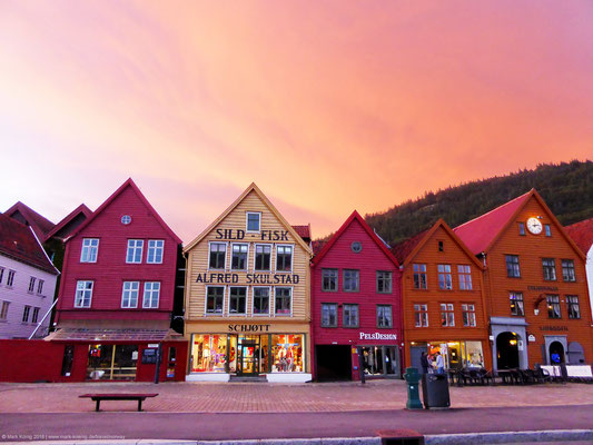 Bryggen in Bergen - UNESCO world culture heritage