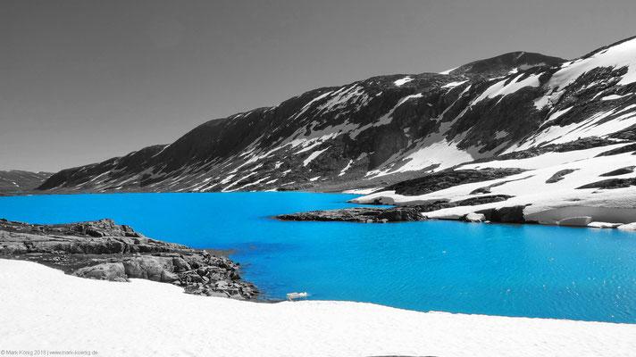 Lake on a Norwegian fell.