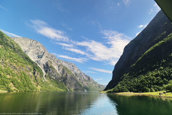 Nærøyfjord - UNESCO world nature heritage