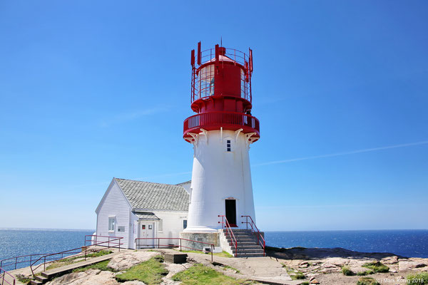 Vom Lindesnes Leuchtturm (Tag 3) ganz im Süden Norwegens ...