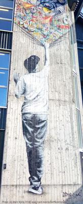 Street art in the city of Stavanger (Norway)