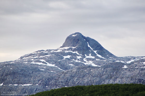 Peak of Botnkrona, most northern sister (1,072 metres = 3,517 ft)