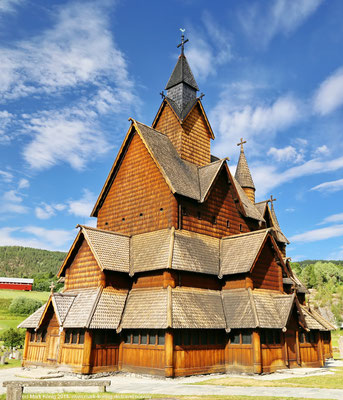 Heddal stave church (sight)