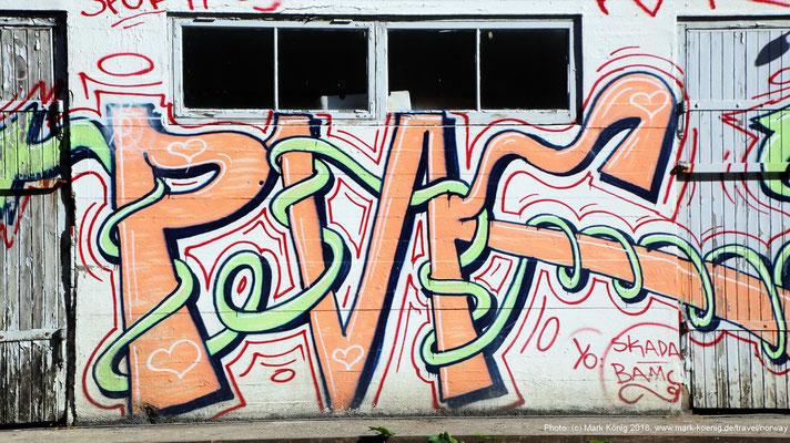 Graffiti in Kristiansand (Norway)