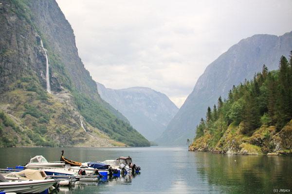 Der Nærøyfjord wurde 2005 zusammen mit dem Geirangerfjord zum Weltkulturerbe erklärt.