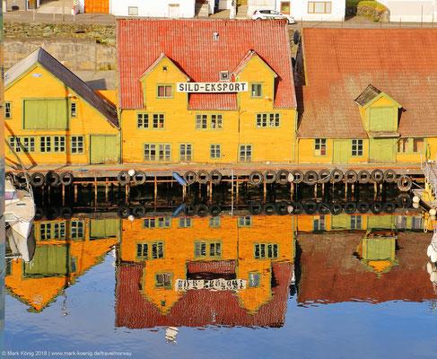 Old buildings in Haugesund