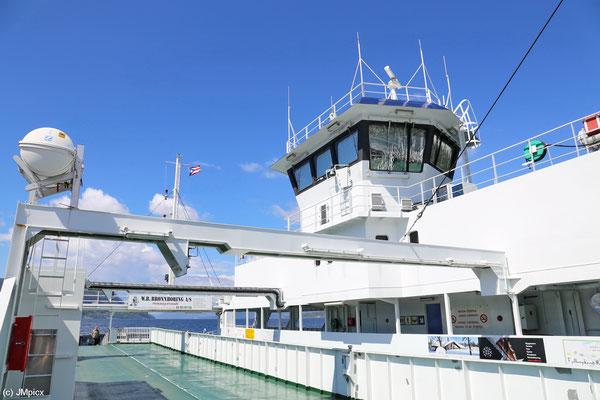 Die Landschaftsroute Ryfylke beinhaltet die Nutzung zweier kostenpflichtiger Fähren