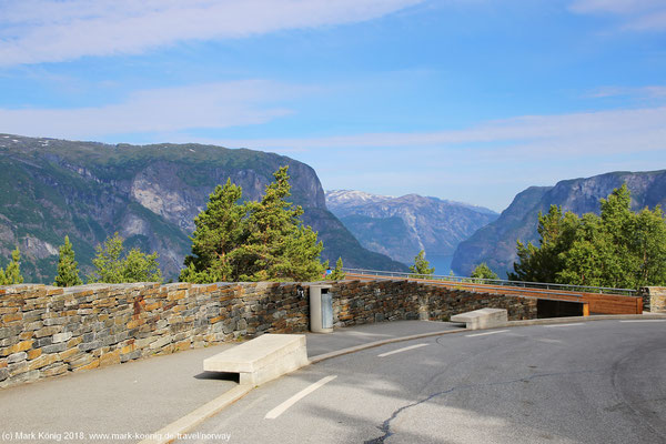 Street view of Stegastein viewpoint - fully accessible