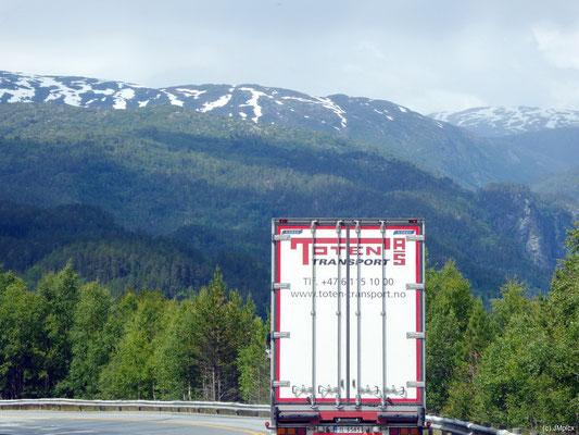 """LKW mit Aufschrit """"Toten-Transport"""": Manche Dinge sollte man als Deutscher in Norwegen nicht zu wörtlich nehmen"""