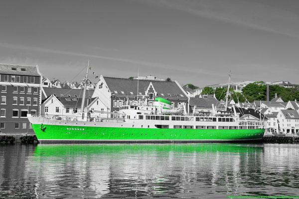MS Sandnes in Vågen, the old port of Stavanger.