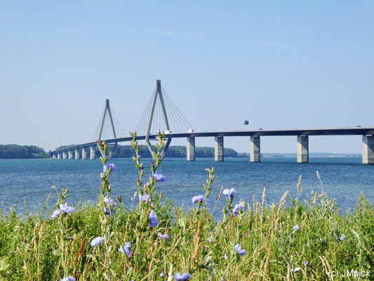 Farø Bridges in Denmark (view from Farø rest area)